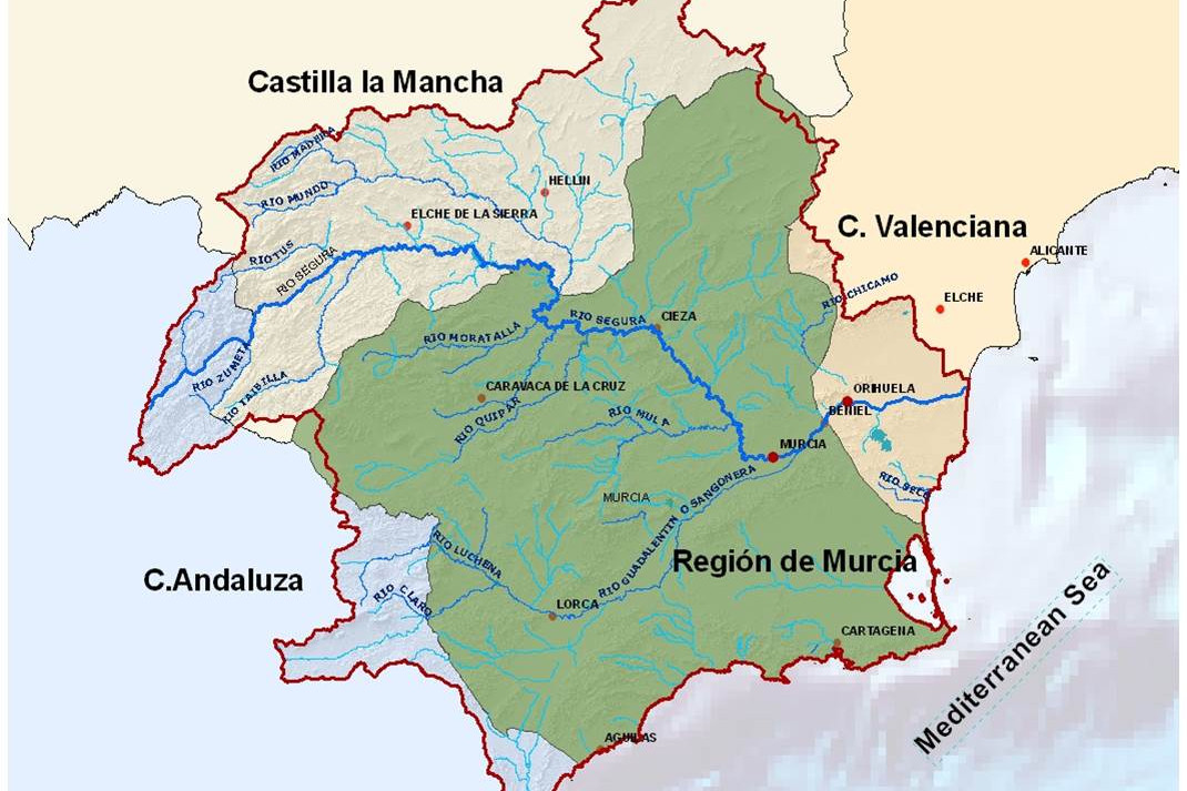 Water and the real economy: a perspective from the River Segura Basin